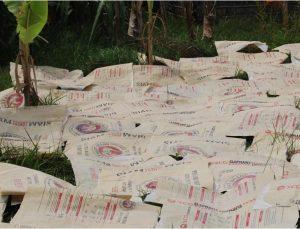 Angkor Recycled - trocknen