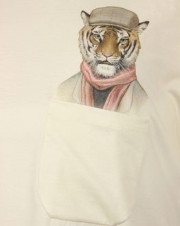 Casual Tiger - Pocket Print