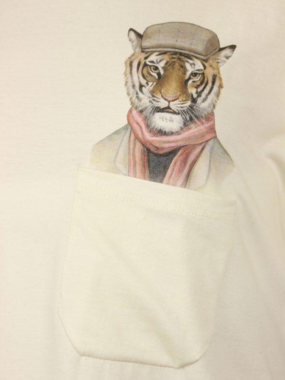 Casual Tiger - Pocket Print