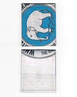Geldbeutel Elefant blau