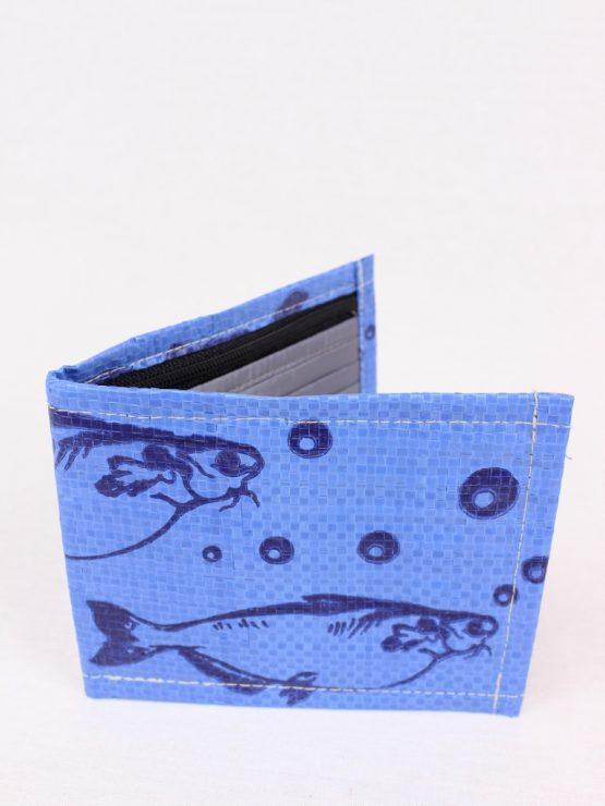 Geldbeutel Fisch dunkelblau