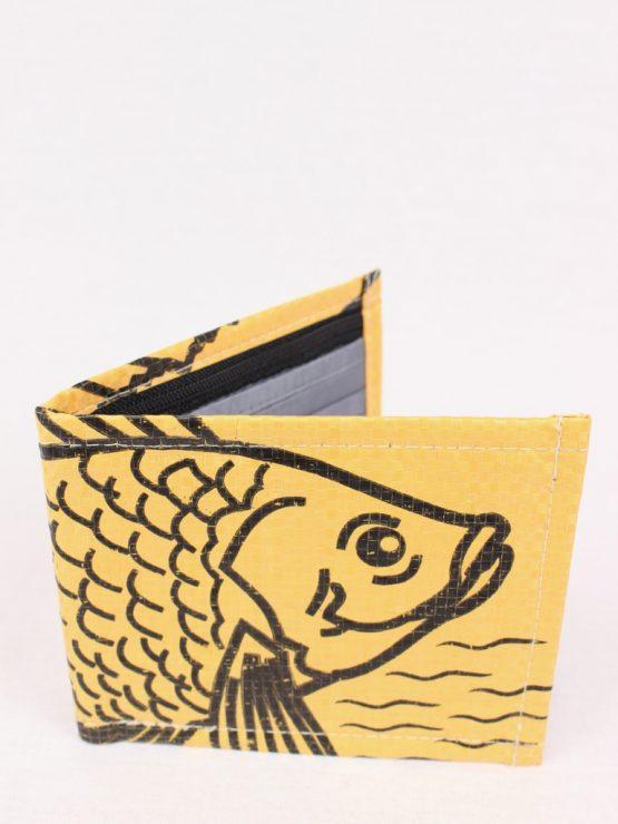Geldbeutel Fisch gelb