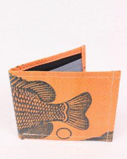 Geldbeutel Fisch orange