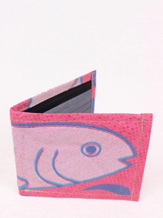 Geldbeutel Fisch rosa