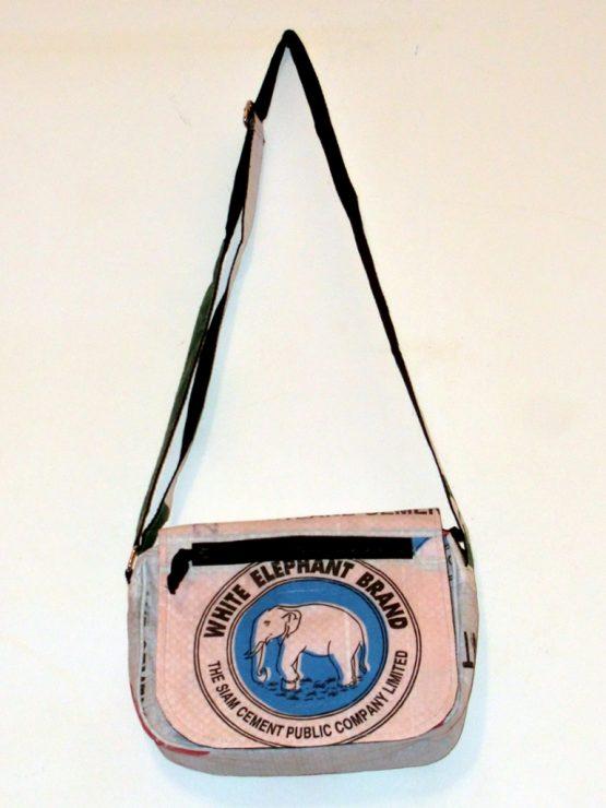 Handtasche Elefant blau