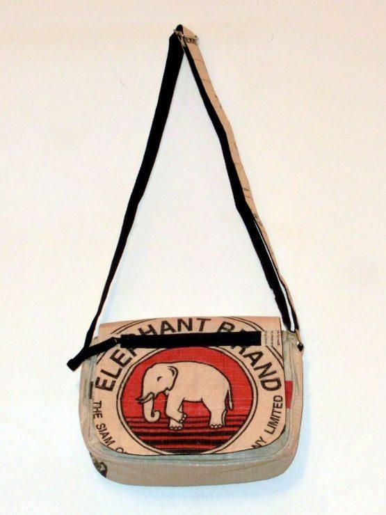 Handtasche Elefant rot