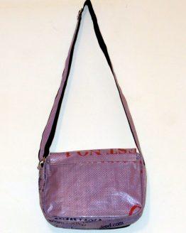Handtasche Fisch lila