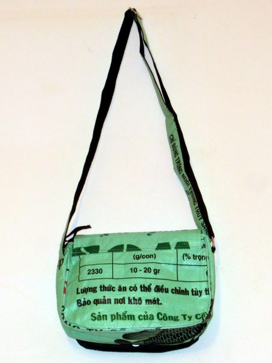 Handtasche Fisch mint