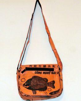 Handtasche Fisch orange