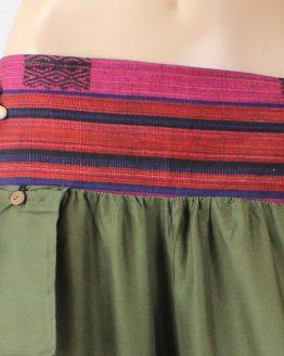 Haremshose Burma - khaki details