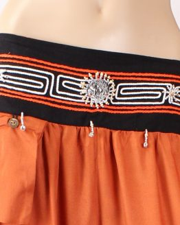 harems-hose-gloeckchen-orange-details