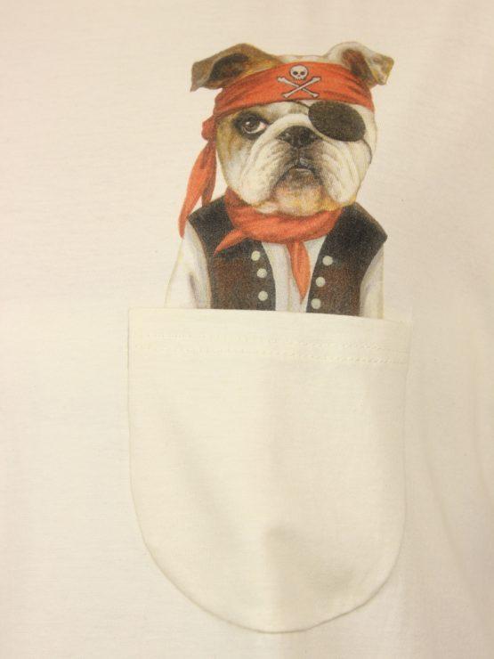 Piraten Hund - Pocket Print