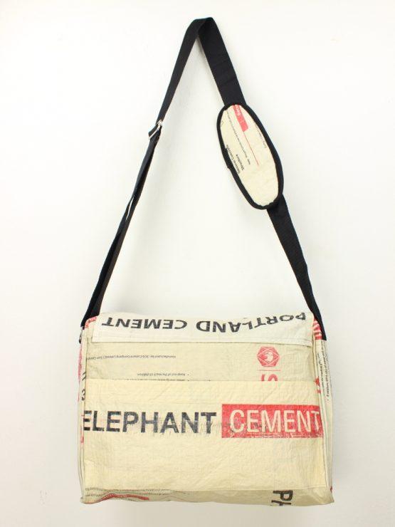 Schultertasche Elefant rot