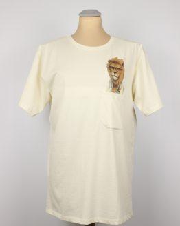 T-Shirt - Playboy Löwe - Pocket Print