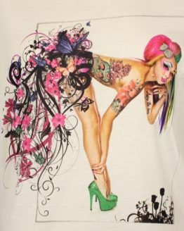 T-Shirt - Tattoo Pin Up Girl
