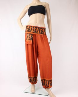 Harems Hose Ägypten orange