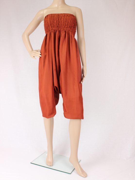 Jumpsuit Aladinhose - orange