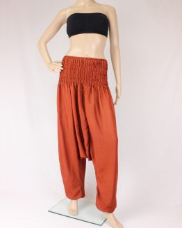 Jumpsuit Aladinhose - orange