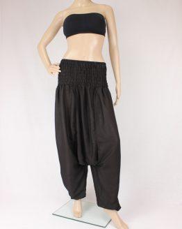 Jumpsuit Aladinhose - schwarz