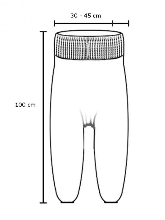 Jumpsuit Aladinhose - bunt - Size