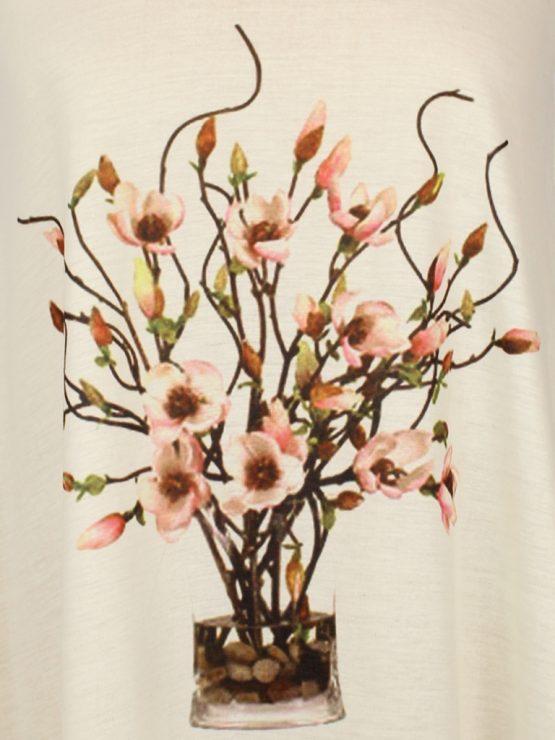 T-Shirt - Magnolien Blüten