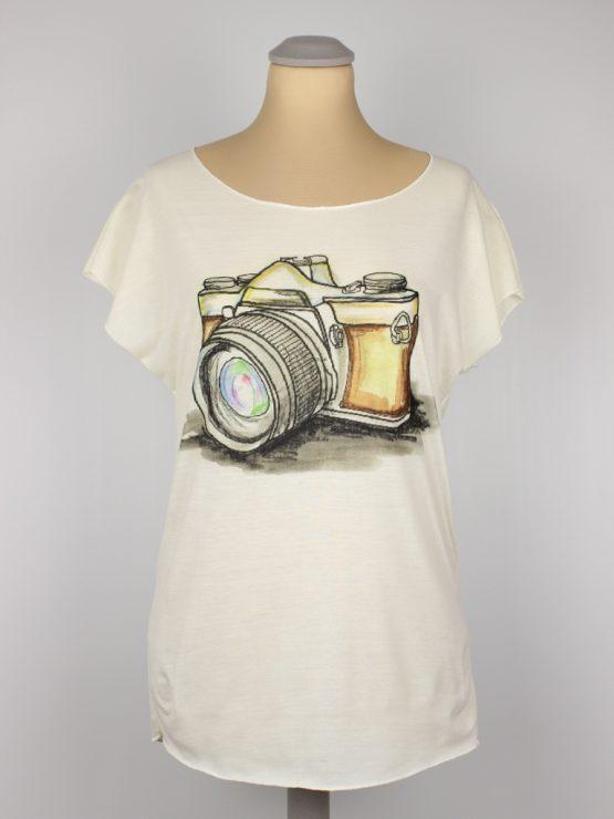 T-Shirt - Fotoapparat Vintage