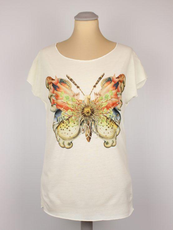 T-Shirt - Schmetterling aus Fischen