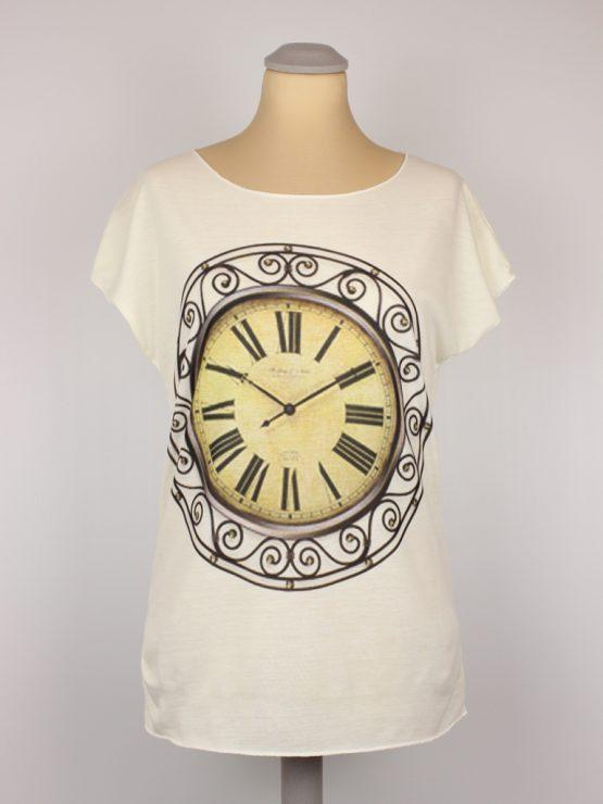 T-Shirt - Kolonialzeit Uhr Vintage