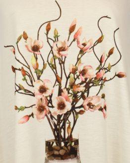 Tanktop - Magnolien Blüten in Vase