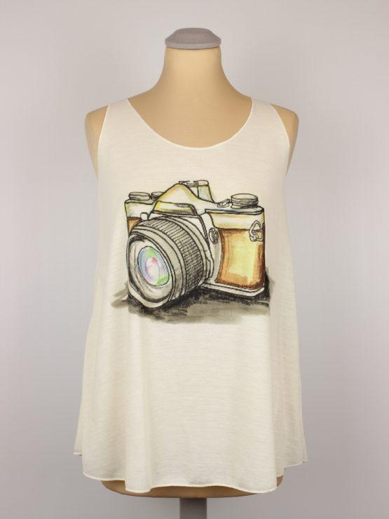 Tanktop - Vintage Fotoapparat