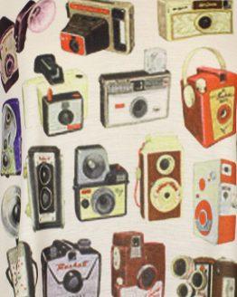 Tanktop - Fotoapparate bunt