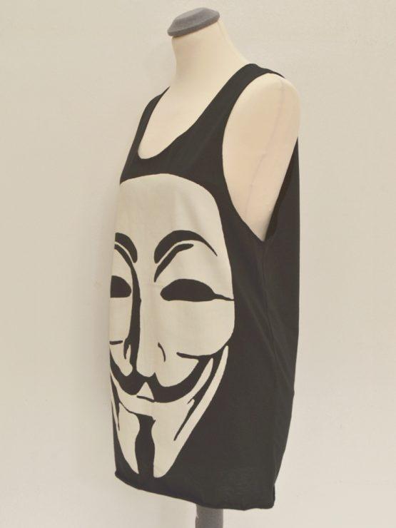 Tanktop - schwarz - unisex - Anonymous