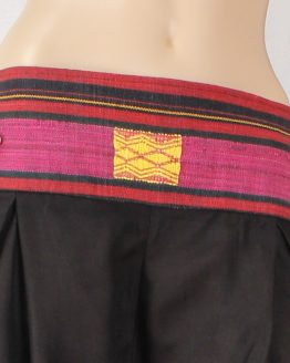 Thaihose - Hosenrock Burma schwarz